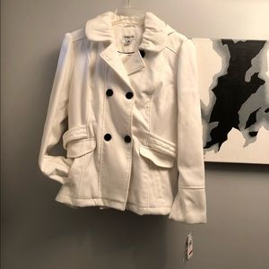 Celebrity Pink coat - XL, ivory w/ with tags!